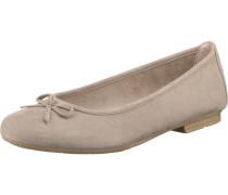 Klassische Ballerinas grau