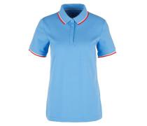 Shirt hellblau / rot / weiß