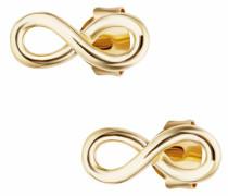 Paar Ohrstecker 'Infinity Unendlichkeitsschleifen together forever C7374E/90/00'