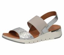 Sandale grau / silbergrau / silber