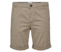 Shorts dunkelbeige