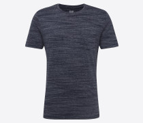 T-Shirt 'SS Essential PKT Crew Space Dye' navy
