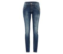 Slimfit Jeans 'new Georgina' blue denim