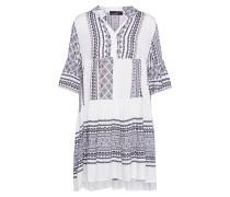 Kleid 'Mediteran' schwarz / weiß