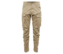Cargohose 'Rovic 3D Tapered' beige