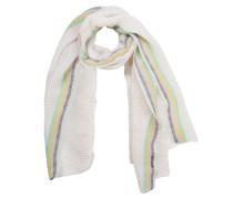 Schal mischfarben / weiß