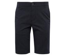 Chino-Shorts schwarz