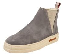 Chelsea Boots 'Maria' hellbeige / grau