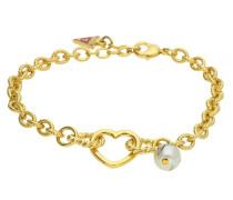 Armband 'ubb11322' gold / perlweiß