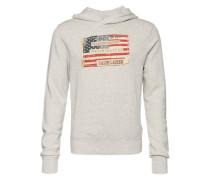 Kapuzen-Sweatshirt grau