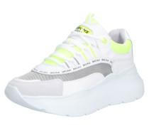 Sneaker 'Grayson' gelb / grau / weiß