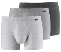 Boxer Herren grau / graumeliert / schwarz