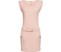 Kleid 'Tag' hellblau / pastellpink