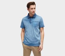 Poloshirt blue denim