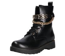 Leder-Boots 'nina' schwarz