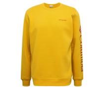 Sweatshirt goldgelb
