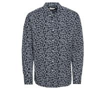 Hemd 'Poplin shirt with bike print'