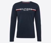 Langarmshirt 'striped Logo Long Sleeve Tee'