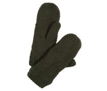 Fäustlinge 'pcdace Wool Mittens' grün