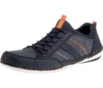 Sneaker ultramarinblau / orange