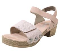 Sandale altrosa / silber