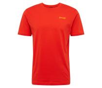 Sport-Shirt 'iridium' orange