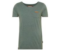 T-Shirt 'Fashionopfa I' dunkelgrün