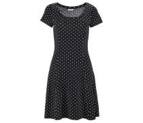 Strandkleid schwarz / weiß