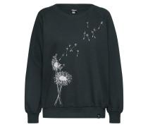 Sweatshirt 'Pusteblume' tanne