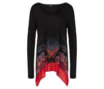 Shirt 'olga' mischfarben / schwarz