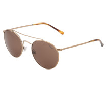 Casual Sonnenbrille mit Metall-Gestell