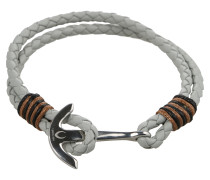 Armband 'Maritim' silber / offwhite