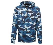 Jacke blau / hellblau / schwarz