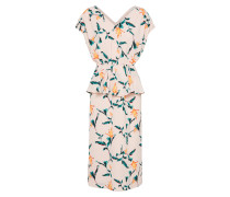 Kleid 'Genesis' grün / orange / rosa