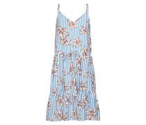 Kleid 'gloss-St.dr' hellblau / weiß