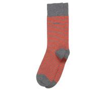 Socken 'Marc' graumeliert / dunkelorange