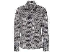 Langarm Bluse Modern Classic schwarz / weiß
