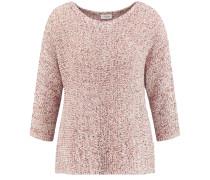 Pullover pastellrot / naturweiß