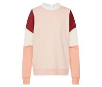 Pullover creme / rosa / bordeaux