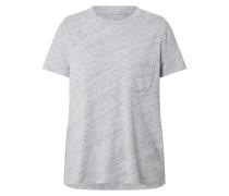 Shirt 'SS PKT Tee' graumeliert