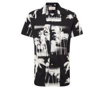 Hemd 'jorharvey' schwarz / weiß