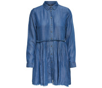 Blusenkleid 'onlTESS' blue denim
