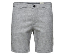 Shorts graumeliert