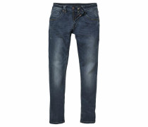Stretch-Jeans 'eduardo' Superstretch blau