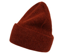Mütze 'josefine' dunkelrot