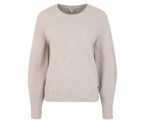 Pullover 'crew Wide Sleeve' beige