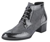 Comfort Stiefelette grau / schwarz