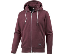 'Salty Adventures' Sweatjacke bordeaux