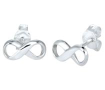 Ohrringe 'Infinity' silber