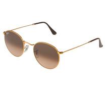 Sonnenbrille 'Round metal' bronze